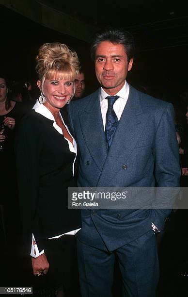 Ivana Trump and Roffredo Gaetani during 30th Anniversary of New York Magazine at Studio 54 in New York City New York United States