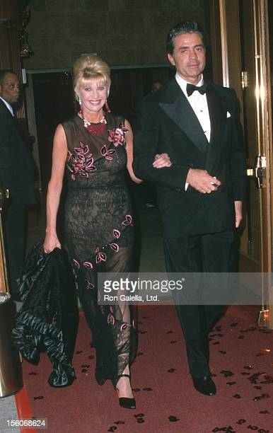 Ivana Trump and Roffredo Gaetani during '42nd Street' Opening and Party at Ford Center for Performing Arts/Milford Plaza Hotel in New York City New...