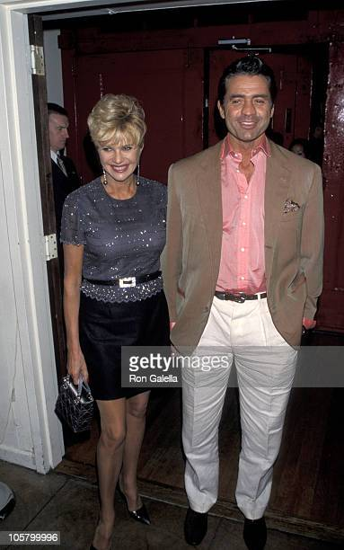 Ivana Trump and Roffredo Gaetani during Durex Condoms Launches Freewear Line at Restaurant 147 in New York City New York United States