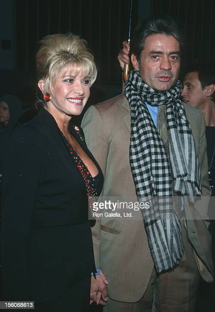 Ivana Trump and Roffredo Gaetani during 'Frequency' Premiere at Ziegfeld Theater in New York City New York United States