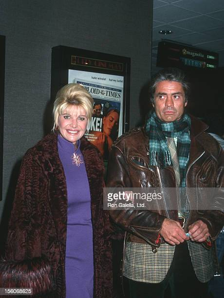 Ivana Trump and Roffredo Gaetani during 'Holy Smoke' New York City Premiere at Cinema 2 in New York City New York United States