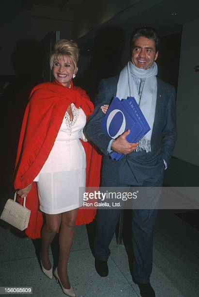 Ivana Trump and Roffredo Gaetani during O The Oprah Magazine Launch Party at The Metropolitan Pavilion in New York New York United States