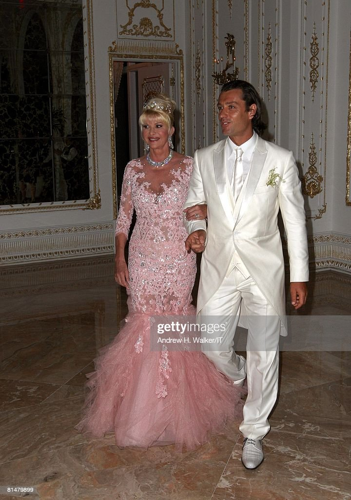 Ivana Trump And Rossano Rubicondi Wedding At Mar A Lago Photos And