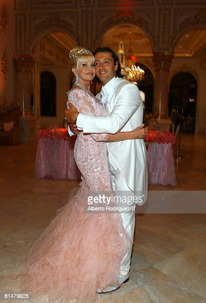 RATES Ivana Trump and Rossano Rubicondi dance during the reception for the wedding of Ivana Trump and Rossano Rubicondi at the MaraLago Club on April...