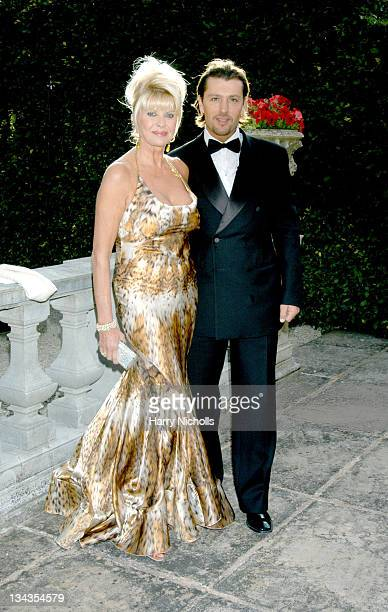 Ivana Trump and Rossano Rubicondi during The 6th Annual White Tie Tiara Ball to Benefit the Elton John Aids Foundation in association with Chopard...