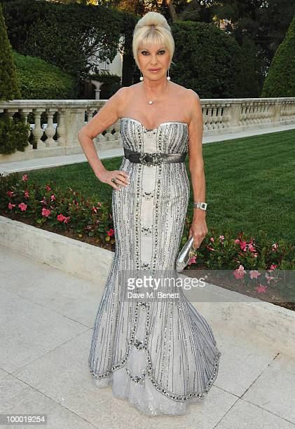 Ivana Trump arrives at amfAR's Cinema Against AIDS 2010 benefit gala at the Hotel du Cap on May 20 2010 in Antibes France