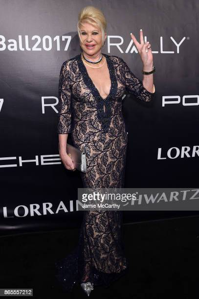 Ivana Trump arrives at Gabrielle's Angel Foundation's Angel Ball 2017 at Cipriani Wall Street on October 23 2017 in New York City
