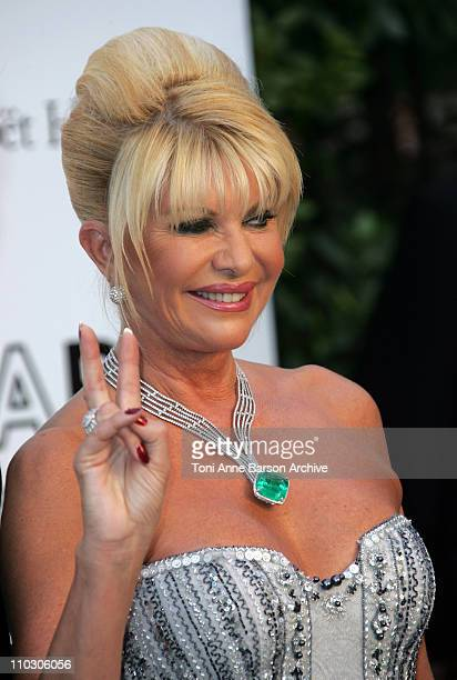 Ivana Trump at amfAR's Cinema Against AIDS event presented by Bold Films the M*A*C AIDS Fund and The Weinstein Company to benefit amfAR