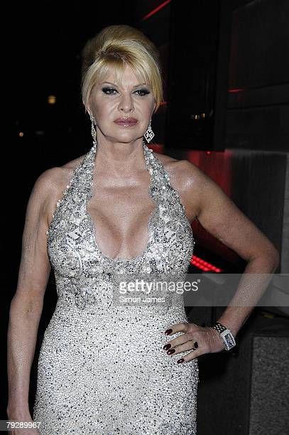 Ivana Trump attends Andy Patti Wong's Chinese New Year Party at County Hall on January 26 2008 in London England