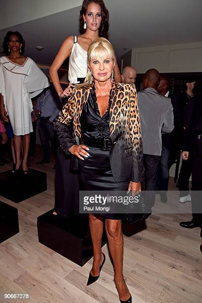 Ivana Trump attends Domenico Vacca Spring 2010 during MercedesBenz Fashion Week at the Soho House on September 12 2009 in New York City