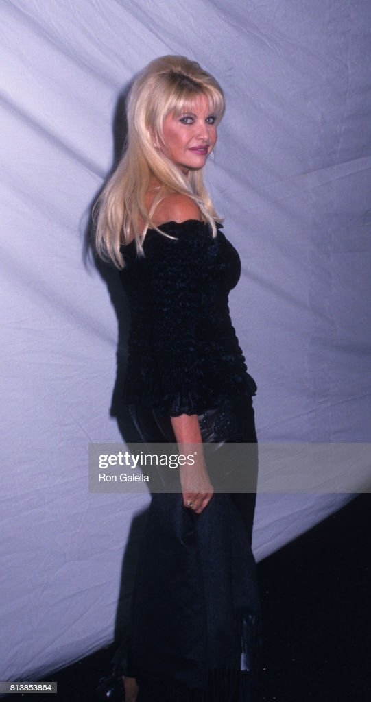 Ivana Trump attends Eighth Annual Victoria's Secret Fashion Show on November 14, 2002 at Lexington Avenue Armory in New York City.