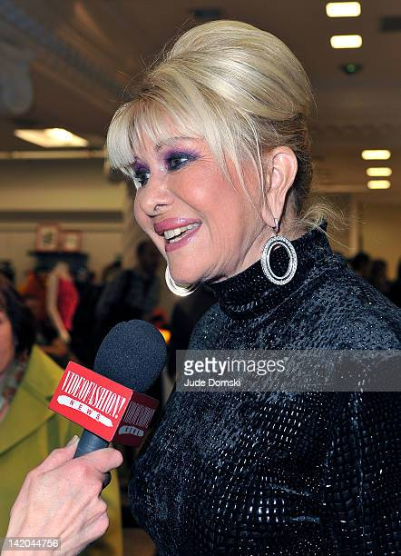 Ivana Trump attends her daughter's design launch Ivanka Trump's New ReadyToWear Collection at Lord Taylor on March 28 2012 in New York City