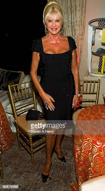 Ivana Trump attends the 2009 VH1 Divas cocktail party at a private residence on September 16 2009 in New York City
