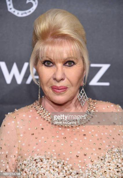 Ivana Trump attends the 2018 Angel Ball hosted by Gabrielle's Angel Foundation at Cipriani Wall Street on October 22 2018 in New York City