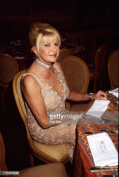 Ivana Trump attends the Bests Awards 2007 Ceremony Party at the Bristol on December 9 2007 in Paris France