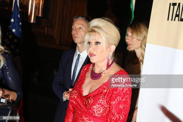 Ivana Trump attends the book launch party and reception for Ivana Trump and Gianluca Mech's 'The Italiano Diet' at The Oak Room at the Plaza on June...