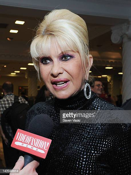Ivana Trump attends the Ivanka Trump New ReadyToWear Collection launch at Lord Taylor on March 28 2012 in New York City