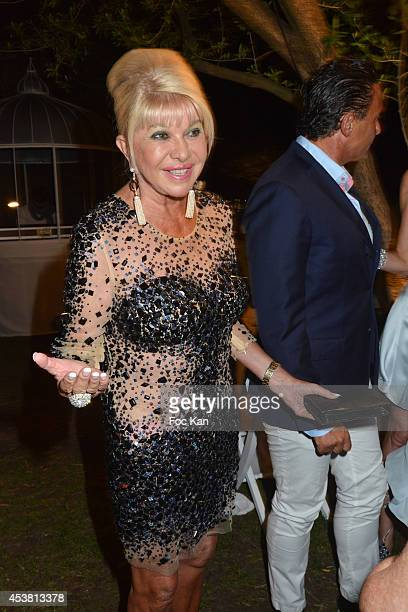 Ivana Trump attends the Massimo Gargia Birthday Party at the VIP Room Saint Tropez on August 18 2014 in Saint Tropez France