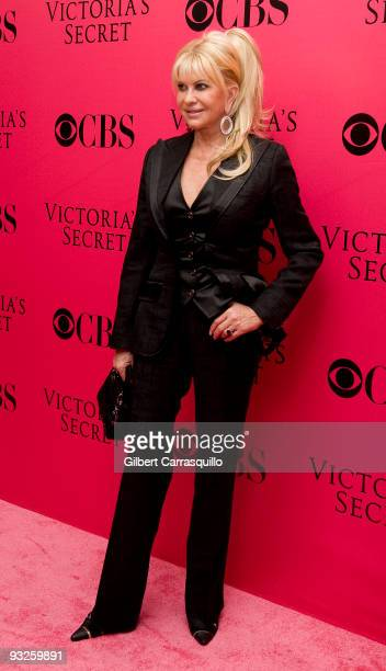 Ivana Trump attends the Victoria's Secret fashion show at The Armory on November 19 2009 in New York City
