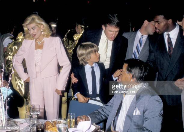 Ivana Trump Donald Trump Jr Donald Trump and Ivana's father