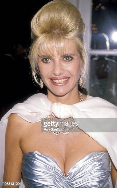 Ivana Trump during 14th Annual Awards Ceremony for The Womens Tennis Association at Plaza Hotel in New York City New York United States