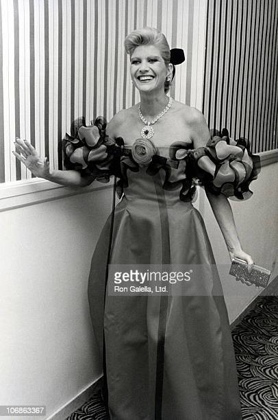 Ivana Trump during 2nd Annual Manhattan Awards May 18 1988 at Plaza Hotel in New York City New York United States