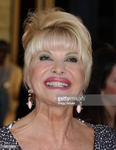 Ivana Trump during 32nd Annual American Music Awards Arrivals at Shrine Auditorium in Los Angeles California United States
