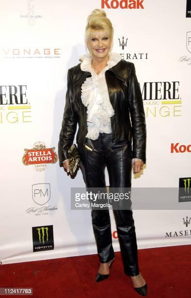 Ivana Trump during 5th Annual Tribeca Film Festival 'Ivana Young Man' Premiere After Party Premiere Film Music Lounge at PM Night Club at PM Night...