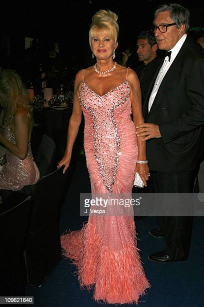 Ivana Trump during amfAR's Cinema Against AIDS Benefit in Cannes Presented by Bold Films Palisades Pictures and The Weinstein Company Dinner at...