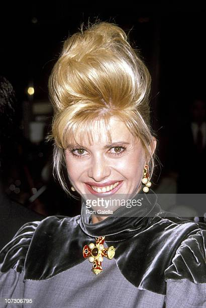 Ivana Trump during Business Travler Award Best Hotel in the World Presented to Ivana Trump November 14 1990 at Plaza Hotel in New York City New York...
