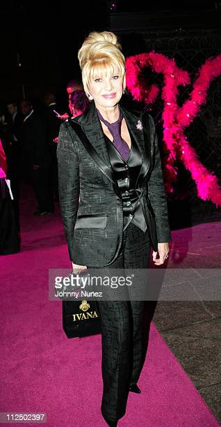 Ivana Trump during Kimora Lee Simmons Surprise Birthday Party at The New York Palace in New York City New York United States