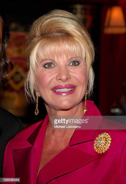 """Ivana Trump during New York Launch of """"Ivana Trump Las Vegas"""" Tower - Inside Arrivals at Club FIZZ in New York City, New York, United States."""