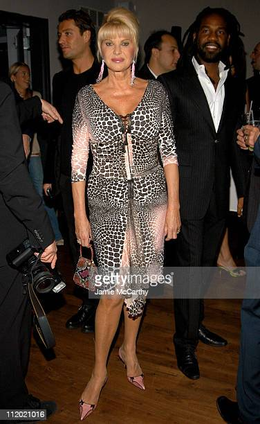 Ivana Trump during YSL and Jude Law Host a Grand Classics Evening in Honor of Cinema and Alfie at Soho House in New York City New York United States
