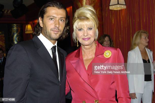 Ivana Trump is joined by her boyfriend Rossano Rubicondi at Club FIZZ as she launches Ivana Las Vegas an 82story condominium project that she is...
