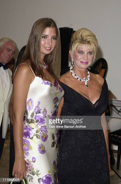 Ivana Trump Ivanka Trump during Red Cross Ball 2001 Arrivals at MonteCarlo Sporting Club in MonteCarlo Monaco
