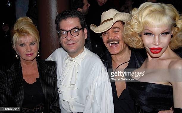 Ivana Trump Michael Musto Randy Jones and Amanda Lepore