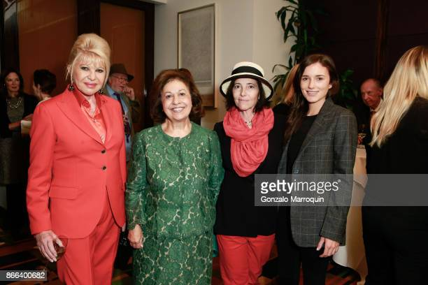 Ivana Trump Princess Katherine of Serbia Christina Oxenberg and Kick Kennedy during the Lifeline NY Annual Benefit Luncheon 2017 at Le Cirque on...