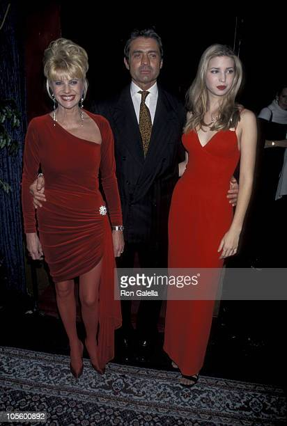 Ivana Trump, Roffredo Gaetani, and Ivanka Trump during Valentine's Day And Birthday Party For Ivanka Trump at Chaos in New York City, New York,...