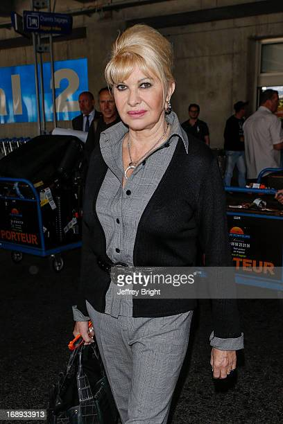Ivana Trump seen at Nice airport during the 66th Annual Cannes Film Festival at Nice Airport on May 17 2013 in Nice France