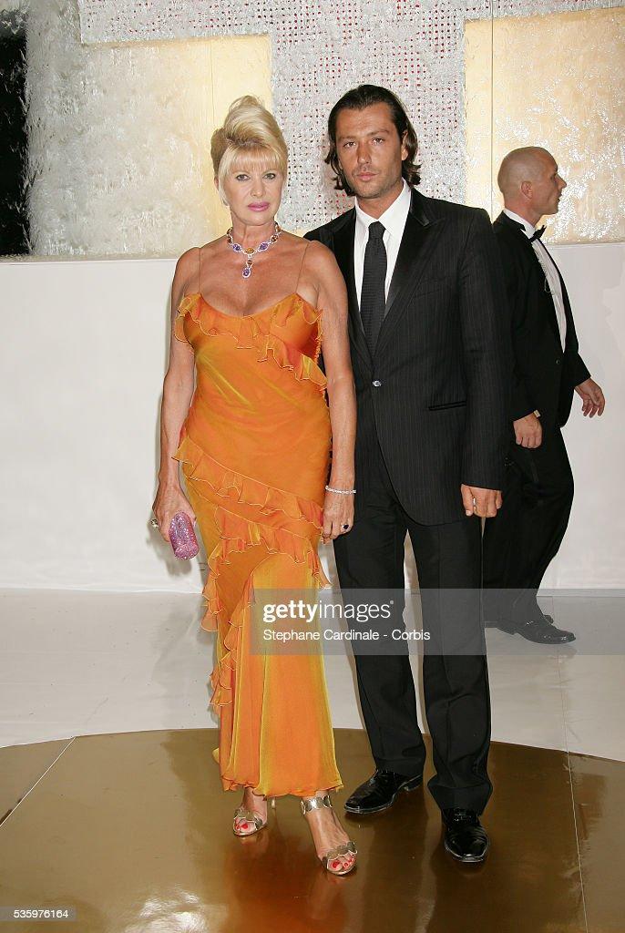 Ivana Trump with her boyfriend.
