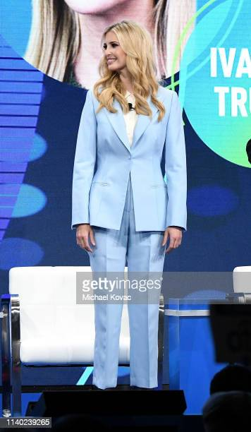 Ivanka Trump Advisor to the President The White House participates in a panel discussion during the annual Milken Institute Global Conference at The...