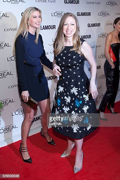 Ivanka Trump and Chelsea Clinton attend the '2014 Glamour Women of the Year Awards' at Carnegie Hall in New York City ������ LAN