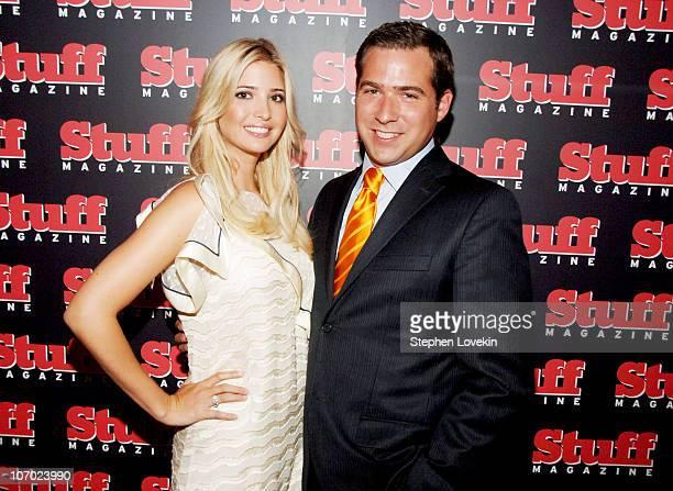 Ivanka Trump and John Lumpkin publisher of Stuff Magazine
