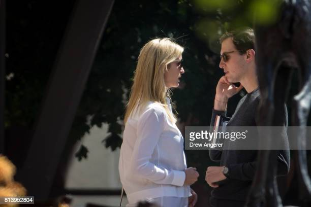 Ivanka Trump assistant to President Donald Trump and daughter of President Trump and Jared Kushner White House senior advisor to the president for...