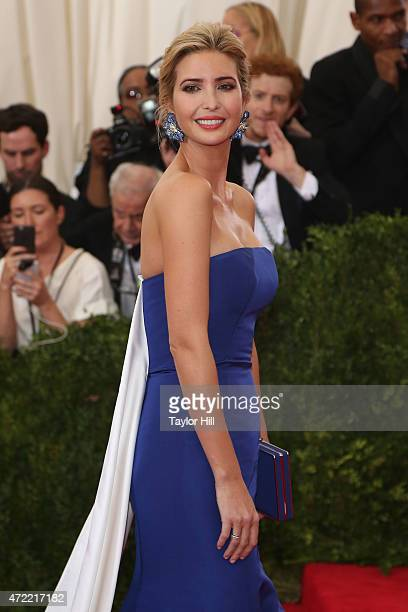 Ivanka Trump attends China Through the Looking Glass the 2015 Costume Institute Gala at Metropolitan Museum of Art on May 4 2015 in New York City
