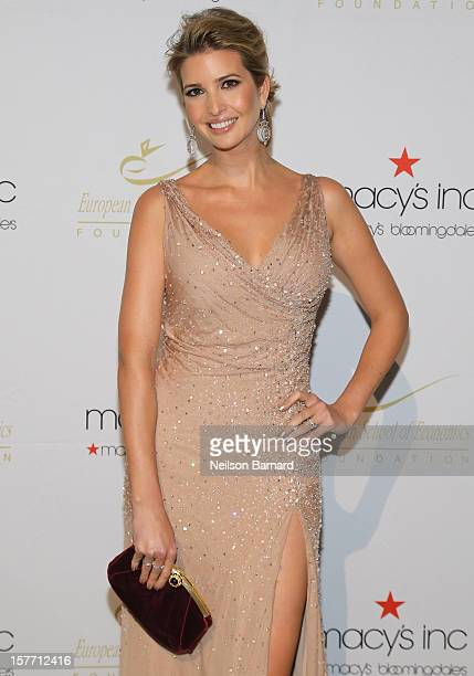 Ivanka Trump attends European School Of Economics Foundation Vision And Reality Awards on December 5 2012 in New York City