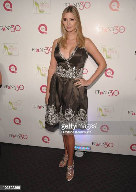 """Ivanka Trump attends """"FFANY Shoes on Sale"""" Benefit for Breast Cancer Research and Education, presented by QVC at Frederick P. Rose Hall, Jazz at..."""