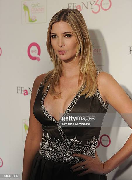 Ivanka Trump attends 'FFANY Shoes on Sale' Benefit for Breast Cancer Research and Education presented by QVC at Frederick P Rose Hall Jazz at Lincoln...