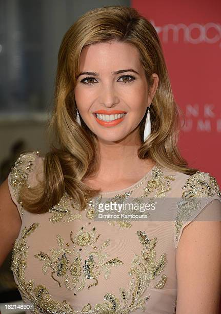 Ivanka Trump attends Ivanka Trump Fragrance Launch at Macy's Herald Square on February 19 2013 in New York City