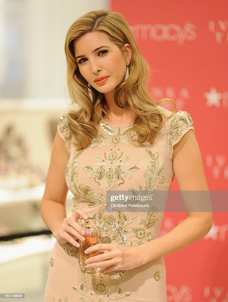 Ivanka Trump Fragrance Launch